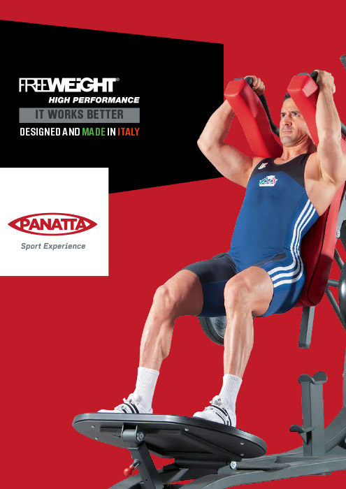 Catalogo Panatta Sport Free Weight